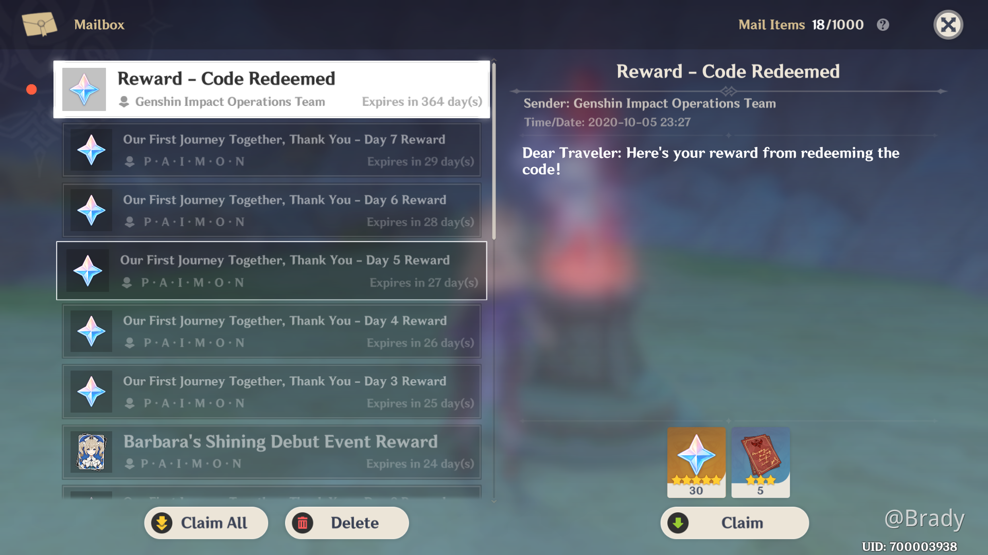 EVENT   REDEEM CODE   EXPIRED   FOR NEW CODE READ ...